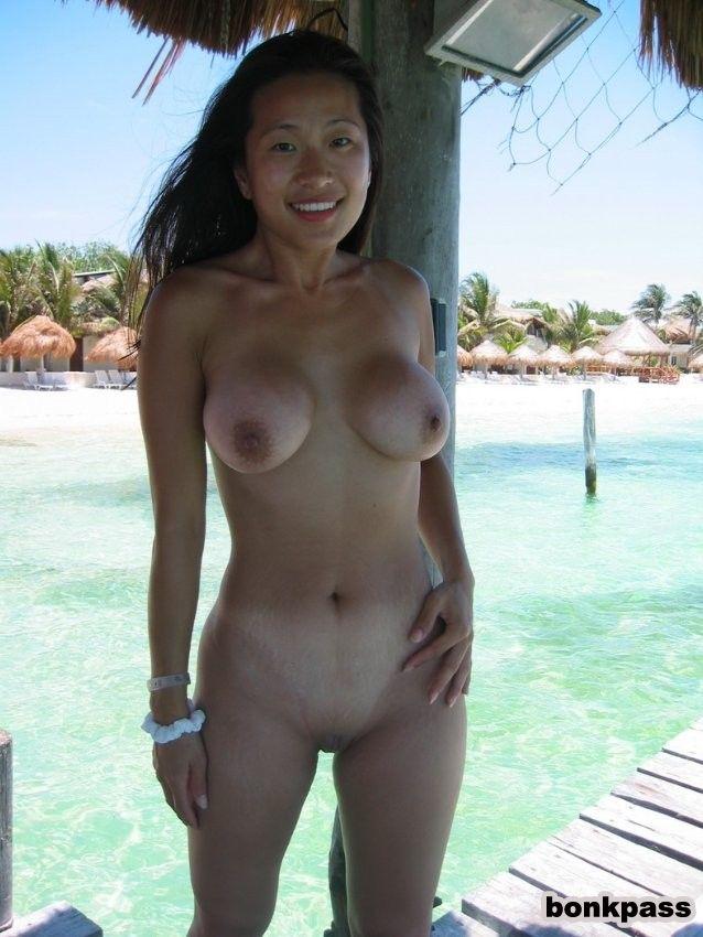 Nude redhead perfect tits